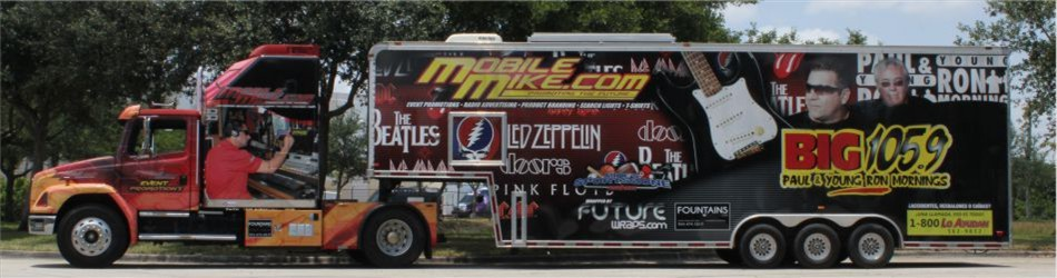 Mobile Mike Vehicle Wrapping